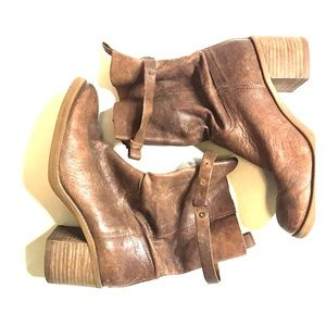 Lucky brand women's boots size 9m brown